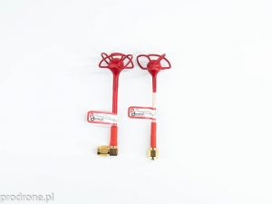 Set of two paired Pro Cloverleaf antennas 5.8Ghz