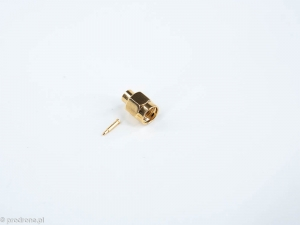 SMA connector solder version for RG402 cable