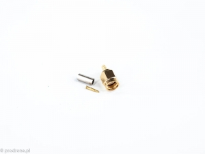 SMA connector crimp version for RG316 cable