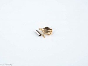 RP-SMA connector crimp version for RG316 cable